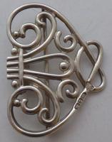 Victorian 1899 Hallmarked Solid Silver Nurses Belt Buckle William Hutton (4 of 8)