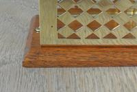 Fine William Tonks & Sons Brass and Oak Letter Rack c.1920 (3 of 5)