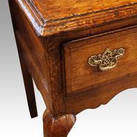 George III Oak Cabriole Leg Dresser (3 of 12)