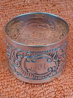 Antique Sterling Silver Hallmarked Napkin Ring 1903 (6 of 6)