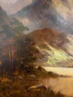 Lovely Oil on Canvas by Francis E Jamieson (2 of 3)