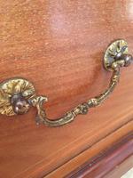 Antique Mahogany Wardrobe with Mirror Door (4 of 10)