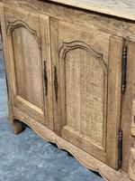 French Bleached Oak Sideboard or Dresser Base (11 of 23)