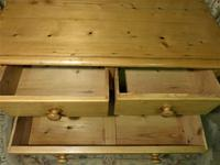 Small Edwardian Pine Chest of Drawers Stripped & Bees-waxed (6 of 9)