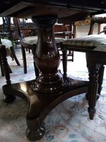 Large Victorian Mahogany Tilt Top Breakfast Table or Dining Table (3 of 9)