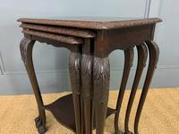 Nest of 3 Mahogany Tables (10 of 12)