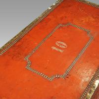 Regency Red Leather Camphorwood Trunk (8 of 8)