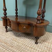 Quality Victorian Rosewood Antique Whatnot (7 of 9)