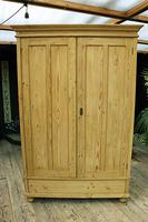 Fabulous & Large Old Pine 'Knock Down'  Double Wardrobe (15 of 15)