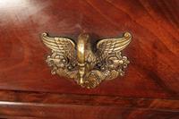 Beautiful Large Flame Mahogany Cylinder Desk (16 of 30)