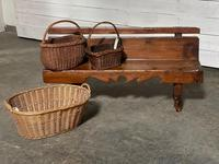 Rustic French Hall Bench (3 of 23)