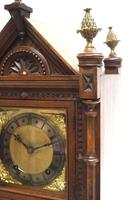 Superb Antique Solid Walnut 8-day Mantel Clock Ting Tang Striking Bracket Clock by W&H (8 of 12)