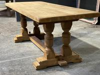 French Oak Refectory Farmhouse Dining Table (11 of 12)