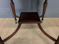 """Inlaid Mahogany """"Surprise"""" Drinks Table (13 of 15)"""