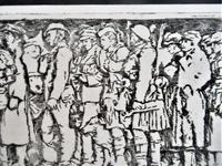 R S Forrest print, Scottish National War Memorial, after Meredith Williams c1927 (6 of 8)