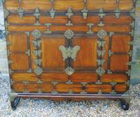 Chinese Elm Marriage Cabinet Circa 1900 (6 of 12)