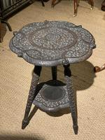 Late 19th Century Indian Lamp Table