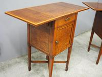 Pair of Thuya Wood Bedside Cabinets (11 of 13)