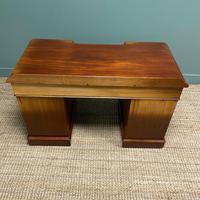 Quality Victorian Mahogany Antique Pedestal Desk (7 of 8)