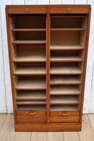 Oak Tambour Filing Cabinet (5 of 8)