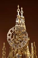 Scottish Interest Historically Interesting Sir Walter Scott Skeleton Clock. (8 of 14)