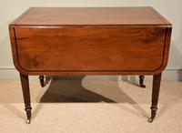 Superior Quality Regency Mahogany Pembroke Table (2 of 7)