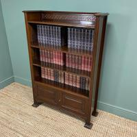 Quality Edwardian Mahogany Antique Bookcase by Waring & Gillow (8 of 8)