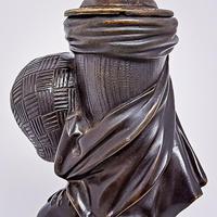 19th Century Bronze Lamp (4 of 5)