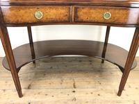 Kidney Shaped Writing Desk with Leather Top (6 of 9)