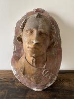 19th Century Plaster Head (3 of 3)