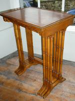 Satinwood Nest of Four Tables (5 of 7)