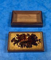 Rosewood & Mosaic Tunbridge Ware Box (5 of 12)