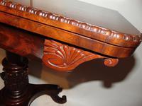 American Regency mahogany card table (7 of 9)