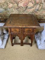 19th Century Brass Inlaid Hoshiarpur Table (7 of 7)