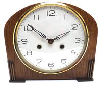 Really Good Hat Shaped Mantel Clock – Striking 8-day Arched Top Mantle Clock (6 of 10)