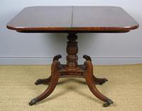 Elegant Regency Mahogany Side / Tea Table (3 of 7)