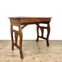 Antique Oak Writing Table