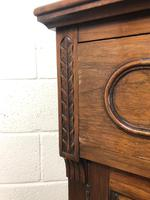 Antique 19th Century Two Stage Mahogany Bookcase (13 of 19)