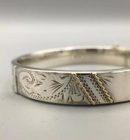 Vintage Silver Bangle London 1984 (4 of 9)