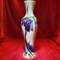 "Moorcroft pottery Limited Edition ""persephone"" pattern vase by Nicola Slaney"