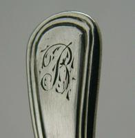 Beautiful Georgian English Solid Sterling Silver Caddy Spoon 1804 Antique (4 of 6)