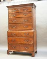 Rare George III Tallboy Chest of Drawers (7 of 15)