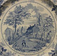 Joseph Heath & Co. The Residence of Richard Jordan, New Jersey' c.1835 (2 of 5)