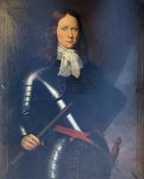 Huge Oil Portrait Painting of 17th Century General John Richmond Webb (3 of 16)