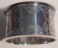 Victorian Silver Napkin Ring, Hallmarked 1896 (2 of 2)