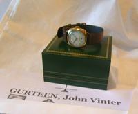 WW2 9ct Gold Longines Gentlemans Wrist Watch 1937 Hurricane Pilot Providence (3 of 12)