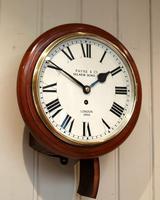 Mahogany 10' Fusee Dial Clock (7 of 12)