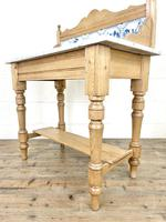 Antique Pine & Marble Washstand (9 of 10)