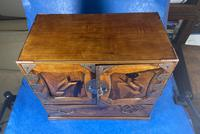 Japanese Inlaid Table Cabinet c.1900 (9 of 11)