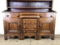 Antique 19th Century Oak Dresser (7 of 16)